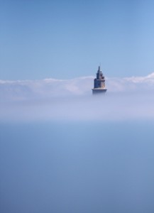 VibrationsCoaching:Tower above the clouds