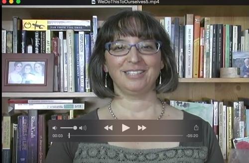 Screenshot of a video