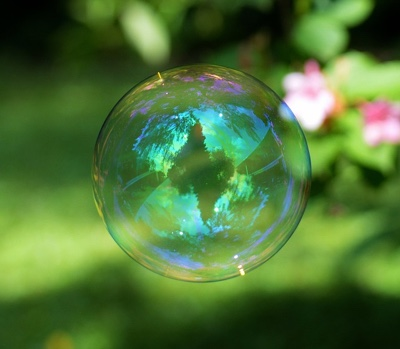 Vibrations Coaching : Bubble with reflection